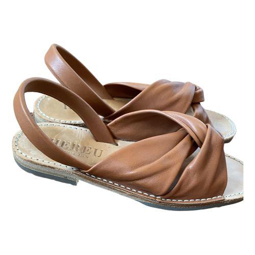 Hereu Leather sandal