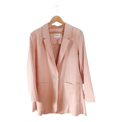 Kowtow Pink Cotton Jacket