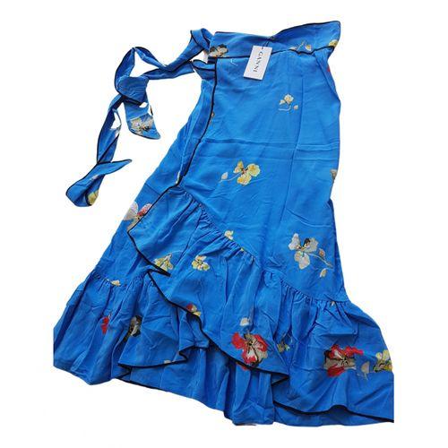 Ganni Silk maxi skirt