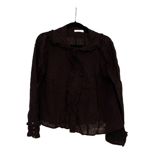 Dôen Black Cotton Top