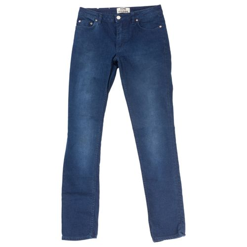 Acne Studios Blue Cotton - elasthane Jeans