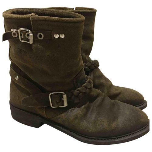 Golden Goose Biker boots