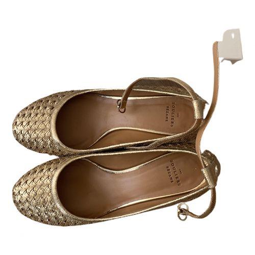 Sézane Fall Winter 2020 leather heels
