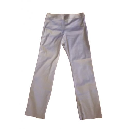 by Malene Birger Silver Polyester Trousers