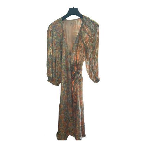 Sézane Spring Summer 2020 silk mid-length dress