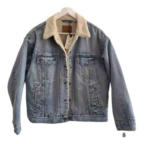 Levi's Faux fur blazer
