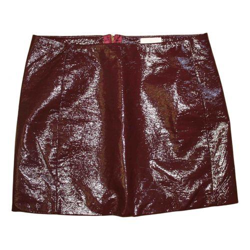 Sézane Fall Winter 2020 mini skirt