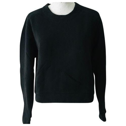 Acne Studios Black Cotton Knitwear