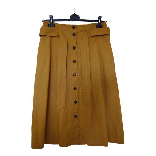Sézane Spring Summer 2019 mid-length skirt
