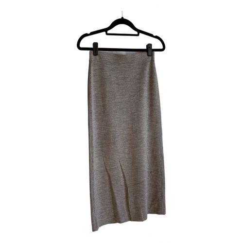 Gabriela Hearst Wool mid-length skirt