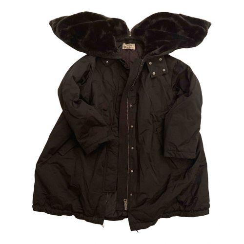 Acne Studios Black Synthetic Coat