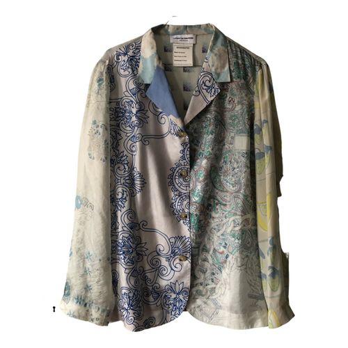 Marine Serre Silk shirt
