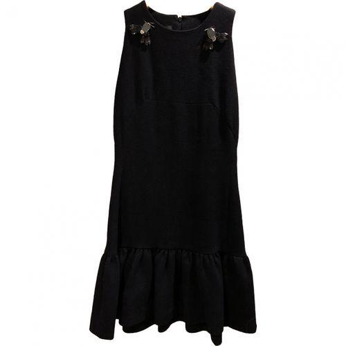 M Of Pearl Wool mini dress