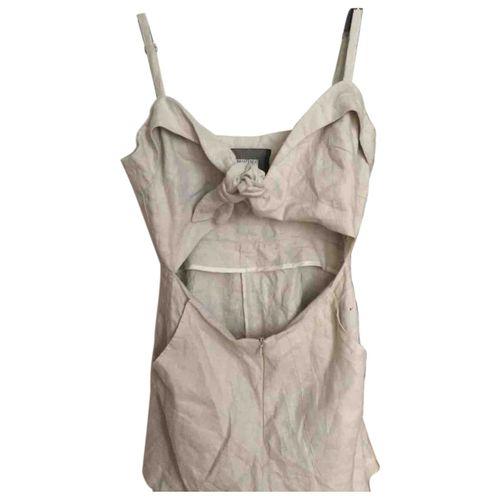 Reformation Linen jumpsuit