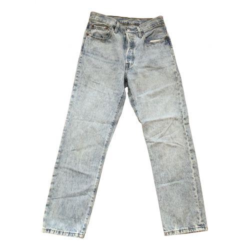 Levi's Blue Cotton Jeans