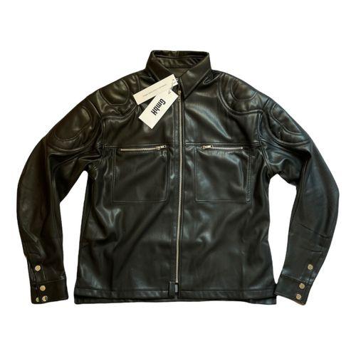 Gmbh Vegan leather biker jacket