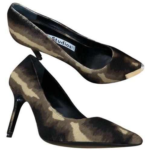 Acne Studios Pony-style calfskin heels