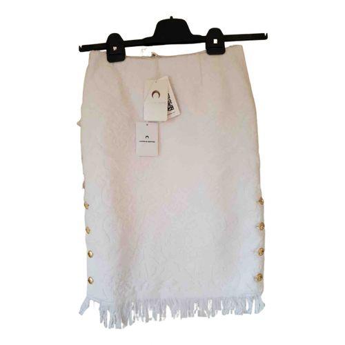 Marine Serre Mid-length skirt