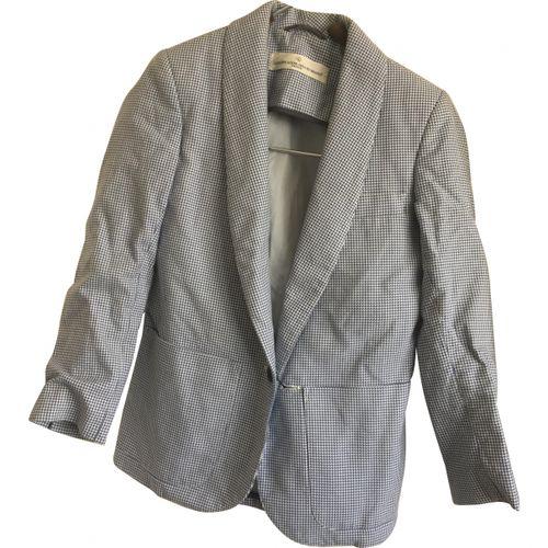 Golden Goose White Cotton Jacket