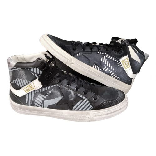 Golden Goose 2.12 leather trainers