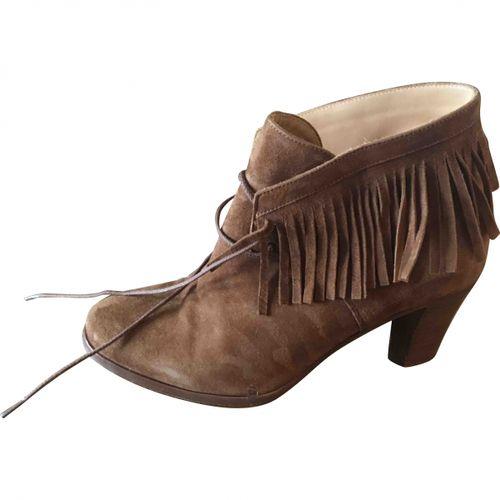 Sézane Lace up boots