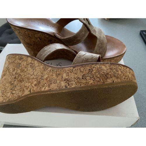 K Jacques Exotic leathers sandals