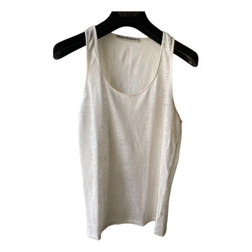 Acne Studios Linen vest