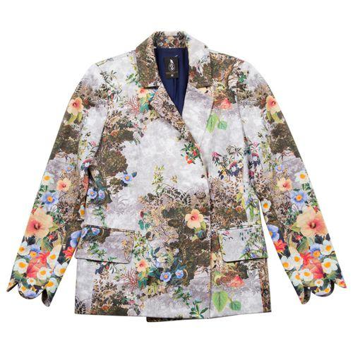 M Of Pearl Multicolour Cotton Jacket