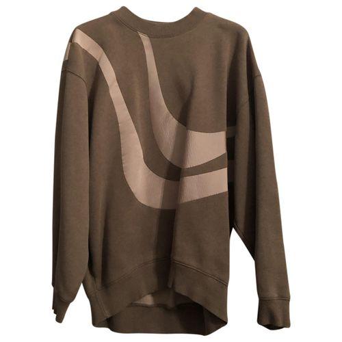 Acne Studios Khaki Cotton Knitwear
