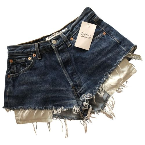 Levi's Blue Denim - Jeans Shorts