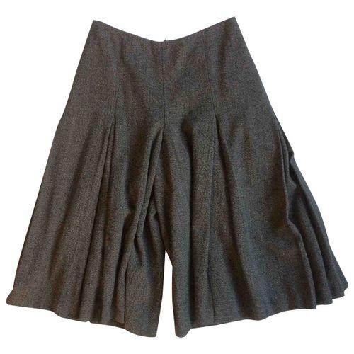 Dries Van Noten Tweed mid-length skirt