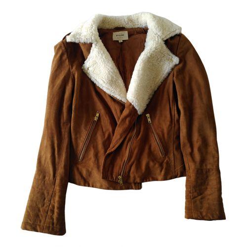 Sézane Leather jacket