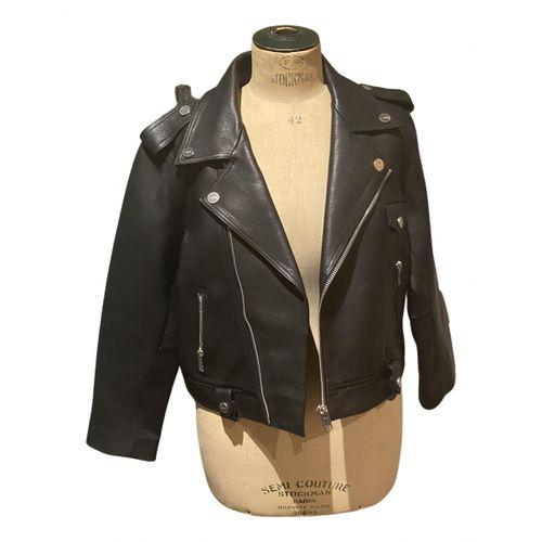 Ganni Spring Summer 2020 leather blazer