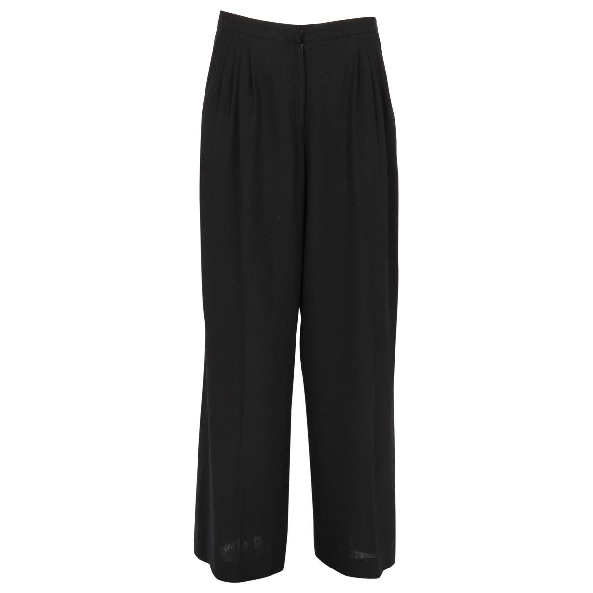Dries Van Noten Wool large pants
