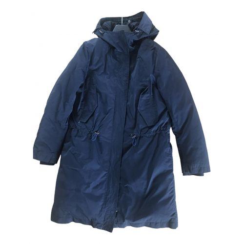Acne Studios Navy Polyester Jacket