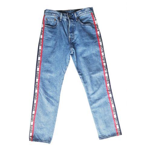Levi's Blue Denim - Jeans Jeans 501