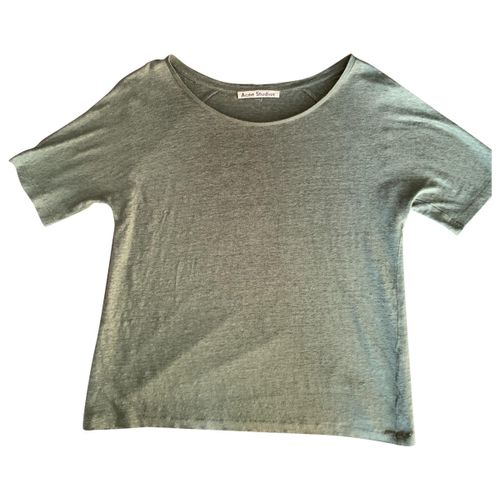 Acne Studios Linen t-shirt