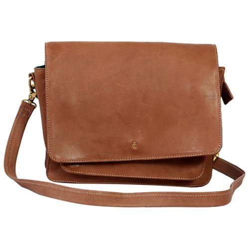 Fabienne Chapot Leather crossbody bag