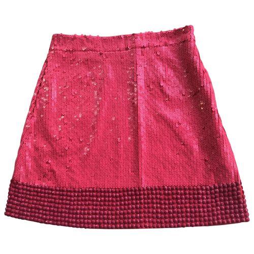 by Malene Birger Silk mini skirt
