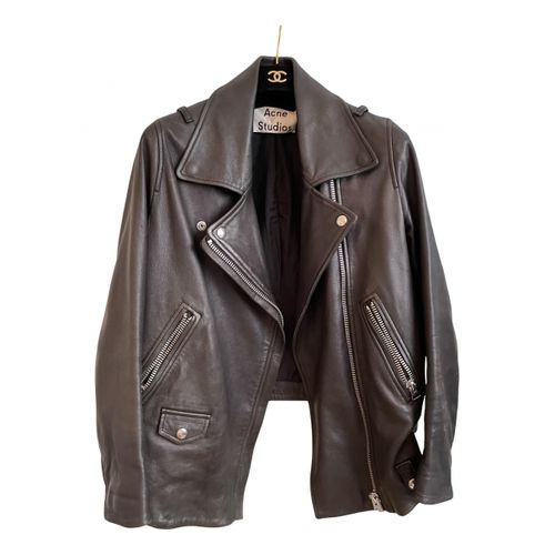 Acne Studios Velocite leather biker jacket
