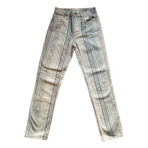 Sézane Spring Summer 2020 straight pants