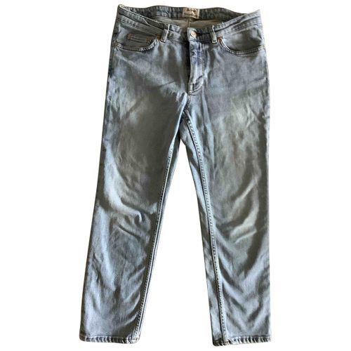 Acne Studios Blue Denim - Jeans Jeans Row