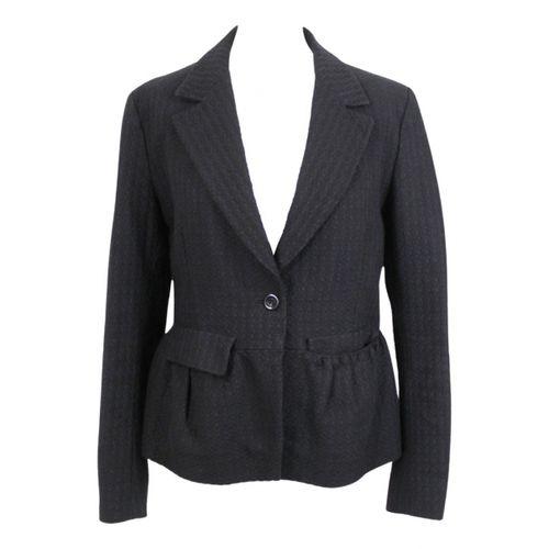 Dries Van Noten Black Cotton Jacket