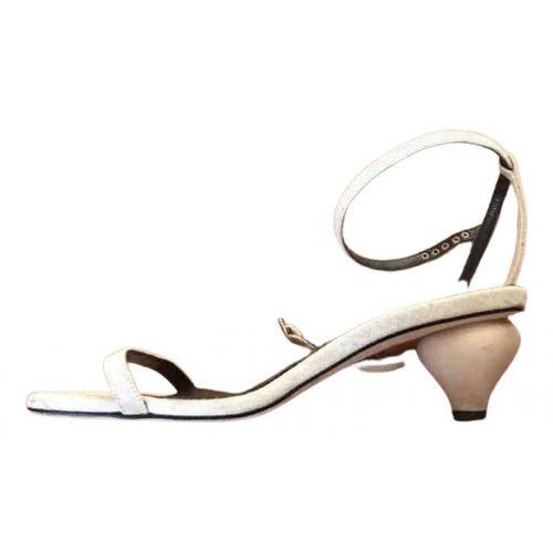 By Far Cloth sandals