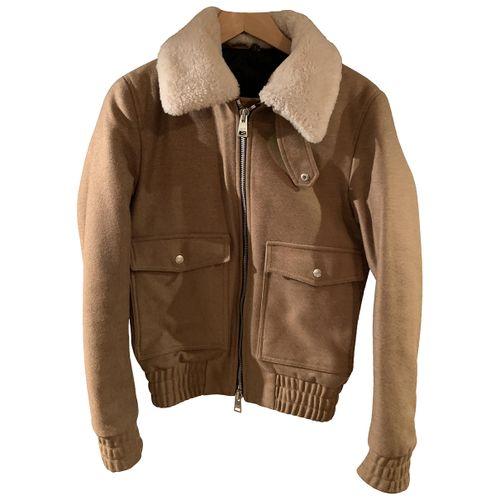 Ami Wool biker jacket