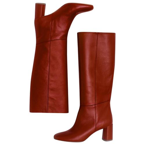Loq Leather boots