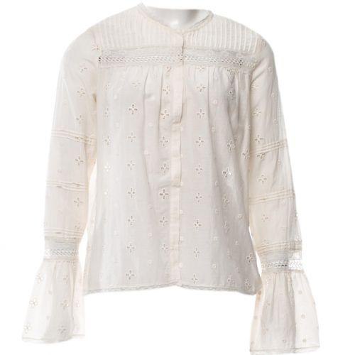 Ulla Johnson White Cotton Top