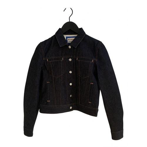 Acne Studios Blå Konst jacket