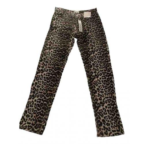 Ganni Spring Summer 2020 straight jeans