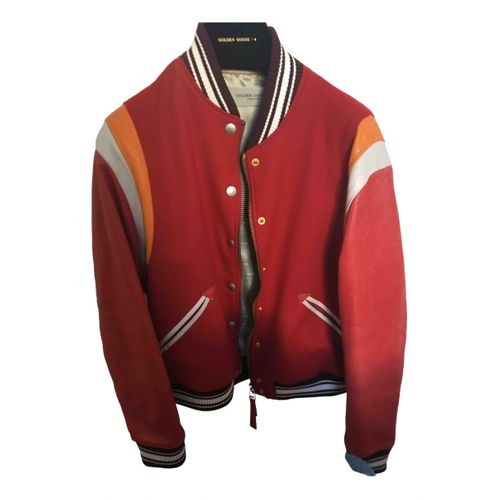 Golden Goose Wool biker jacket